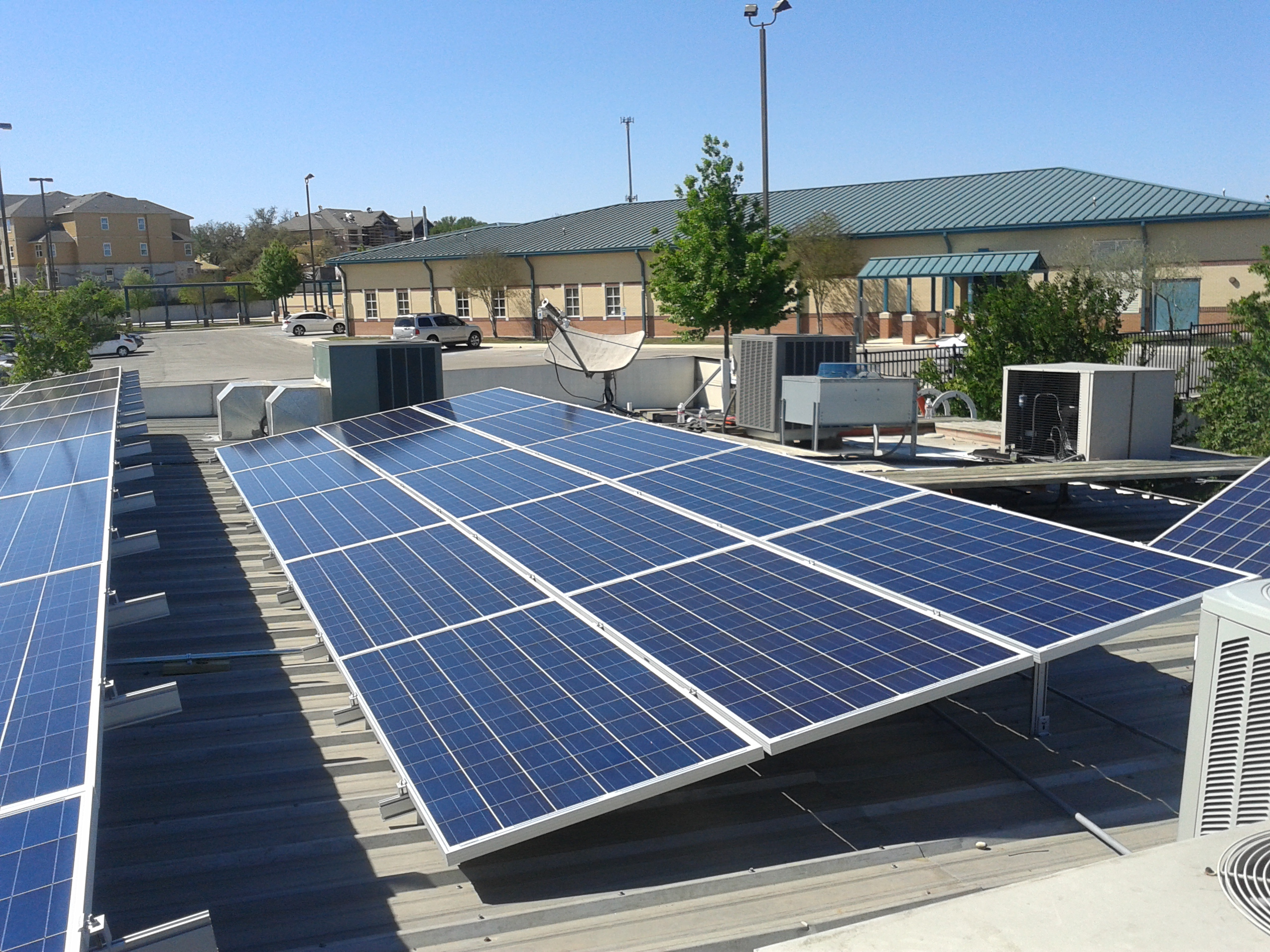 commercial solar installs by advanced solar & electric llc underground solar panel wiring homeadvisor screened & approved