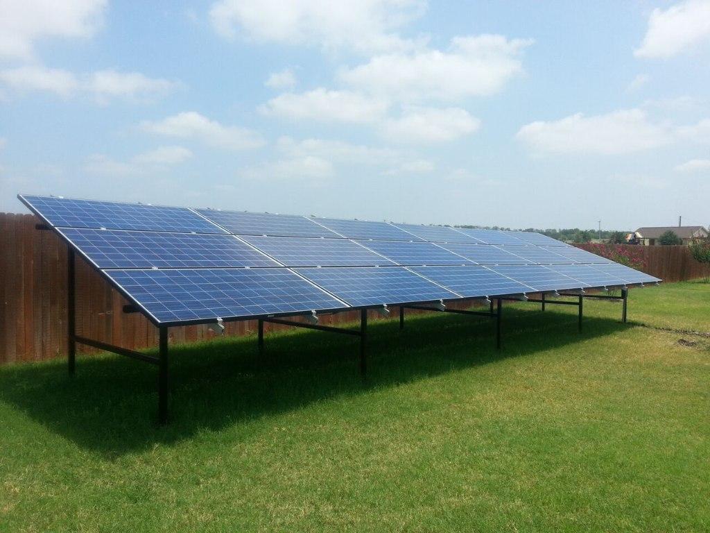Ground Mount Solar Installs By Advanced Solar Amp Electric Llc